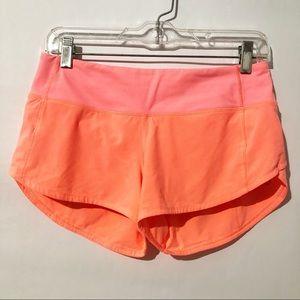 Lululemon Run Times II Shorts Size 4